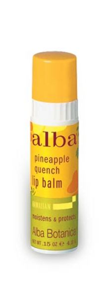 Alba Pineapple Quench Lip Balm 4.5g- New