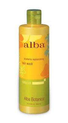 Alba Plumeria Replenishing Hair Wash 350mg- NEW