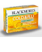 Blackmores Cold & Flu Day/night 24caps