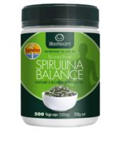 Lifestream Bioactiv Spirulina 500mg 500 vegetable capsules
