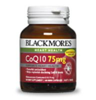 Blackmores CoQ10 75mg 60caps- New Strength