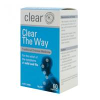 Clear The Way- Flu/Colds by Clear Health 60 Capsules