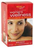 Microgenics Womens Wellness  Multi 1 a day 30tabs