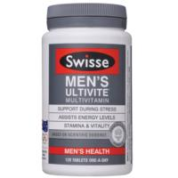 Swisse Mens Ultivite Multi-Vitamin Mineral & Anti-Oxidants Formula 120tabs