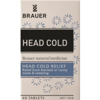Brauer Head Cold Relief 60tabs