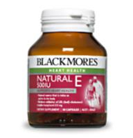 Blackmores Vitamin E 500iu 150caps x 2