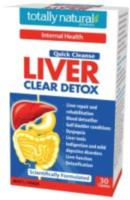 Totally Natural Products Quick Cleanse 2. Liver clear 60t