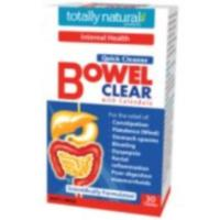 Totally Natural Products Quick Cleanse 3. Bowel clear 60t