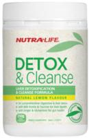 Nutra Life Detox & Cleanse 250g New Formulation