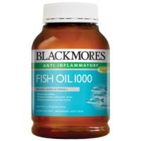 Blackmores Fish Oil 1000mg 400caps Economy Size SAVE $20
