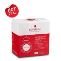Renew Rosehip Antioxidant Moisturising Cream 120ml + FREE RENEW CERTIFIED ORGANIC ROSEHIP OIL 15ML- Gift Pack