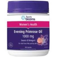 Blooms Evening Primrose Oil 1000mg 200caps- Only $16.95