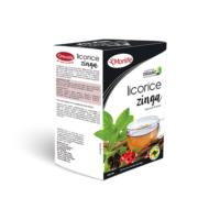 Morlife Licorice Zinga fortified herbal teas 25bags