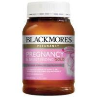 Blackmores Pregnancy & Breast Feeding Gold 180caps- Massively Discounted