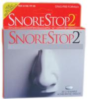 Snore Stop 2 20 Chewable tabs Homeopathic Formulation- Drug Free