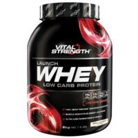 VitalStrength Launch Whey Protein 2kg - New 50/50:WPI/WPC SAVe $44