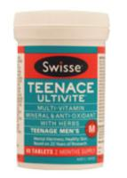 Swisse Teenage Mens Teenace Ultivite Multivit 60tabs