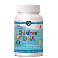 Nordic Naturals Childrens DHA 180caps - Strawberry