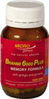 Microgenics Brahmi 6000 plus 30caps