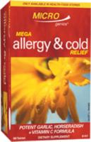 Microgenics Colds & Allergy Relief (Formerly called Mega Hayfever Relief) 120tabs