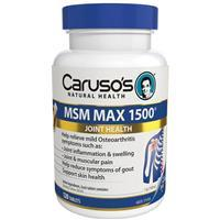 MSM MAX 1500mg 120tabs by Caruso