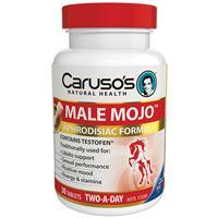 Carusos Natural Health Male Mojo tabs - New Aphrodisiac and mood formula- 25%OFF