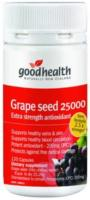 Good Health Grape Seed 25000mg 120caps - 40%OFF Mega Strength antioxidant - deals of the month