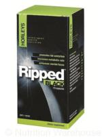 Horleys Ripped Black 70caps- New Thermogenic formula