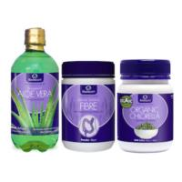 Lifestream Cleanse Pack (Aloe, Bowel Biotics, Chlorella)