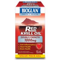 Bioglan Red Krill Oil Double Strength 1000mg