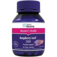 Blooms Raspberry Leaf 2000mg 60vcaps