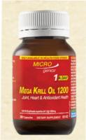 MICROgenics® Mega Krill Oil 1200 30caps