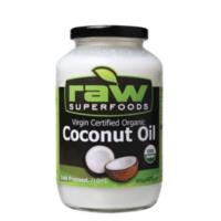 Raw Superfoods Virgin certified Organic Coconut Oil 710ml