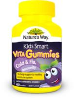 Kids Smart VitaGummies Cold & Flu, Immunity 60 soft gummies
