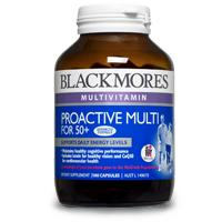 Blackmores Proactive multi for 50+ 100caps