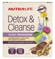 Nutra-life Detox & Cleanse 10 day programme