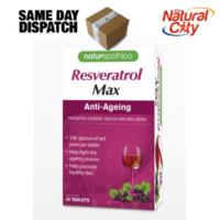 Resveratrol Max 30 Tablets by Naturopathica- Only $16.95- SAVE $8