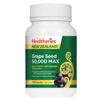 Healtheries Grape Seed 50000 Max 120 Capsules