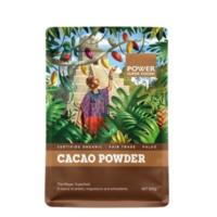 POWER SUPER FOODS CERTIFIED ORGANIC CACAO POWDER ORIGIN SERIES 500g or 1kg