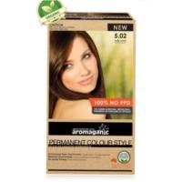 Aromaganic 5.02 Warm Coffee Hair Colour- 100%PPD