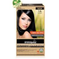 Aromaganic 1.0N Black (Natural) Hair Colour - 100% NO PPD