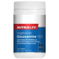 Nutra-Life Vegetarian Glucosamine 1500 90tabs -Vegan friendly