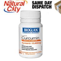 Bioglan Clinical Curcumin 60 Tablets joint pain & inflammation- 1/2/6 bottles