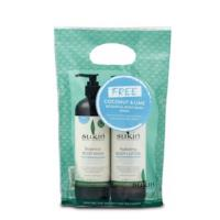 Sukin Grab n Go Hydrating Coconut & Lime Body Lotion with FREE Body Wash 500ml Gift Pack