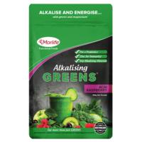 Morlife Alkalising Greens 300g- 3 different flavours to choose from