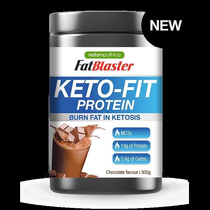 Fatblaster Keto Fit Protein Shake Chocolate 300g