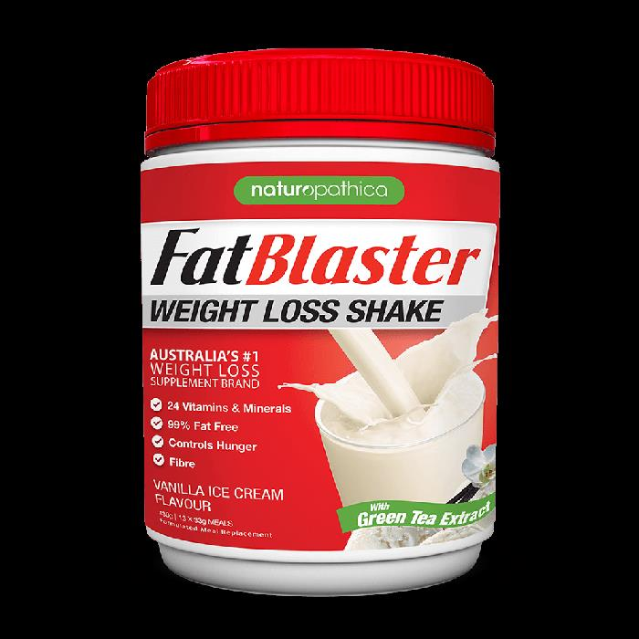 Fatblaster Weight Loss Shake 430g Less 30 Sugar