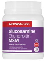 Nutra Life Glucosamine Chondroitin with MSM - Lemon lime 1kg
